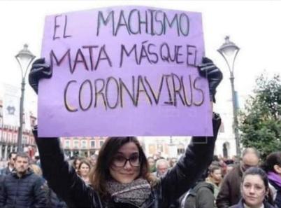 Feminista y coronavirus